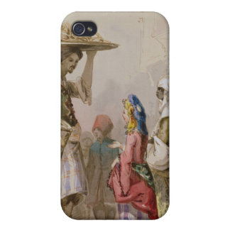 A pot seller, c.1855 iPhone 4/4S covers