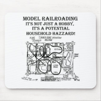 A POTENTIAL HOUSEHOLD HAZZARD MOUSE PAD
