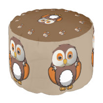 A pouf for a child's room -