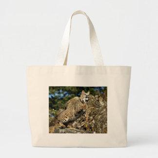 A Pouncing Bobcat Bags