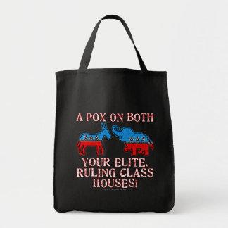 A Pox on Elites Tote Bag
