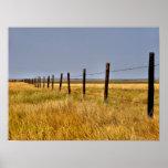 A Prairie Mile Framed Print