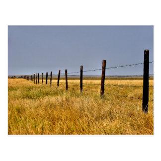A Prairie Mile Postcard