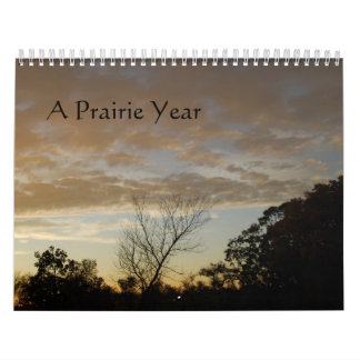 A Prairie Year Calendar