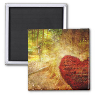 A Prayer for Guidance 2 Inch Square Magnet