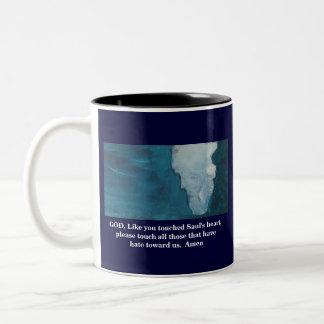 A PRAYER FOR OUR ENEMIES Two-Tone COFFEE MUG