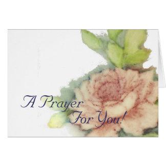 A Prayer For You!-Customize Card