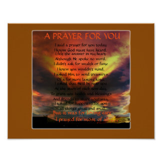 A PRAYER FOR YOU POSTER