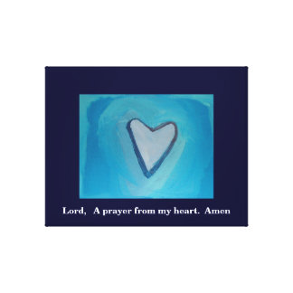 A PRAYER FROM MY HEART GALLERY WRAP CANVAS