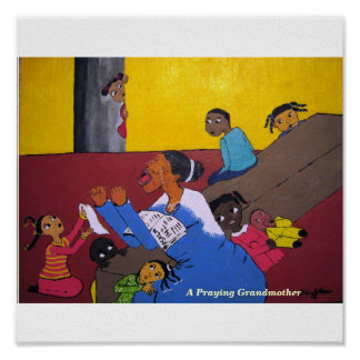 A Praying Grandmother, A Praying Grandmother Poster