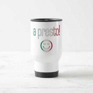 A Presto! Italy Flag Colors Mug