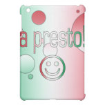 A Presto! Italy Flag Colors Pop Art Case For The iPad Mini