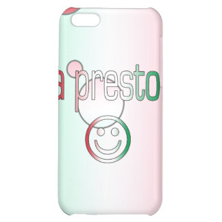 A Presto! Italy Flag Colors Pop Art Case For iPhone 5C