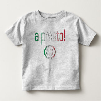 A Presto! Italy Flag Colors Toddler T-shirt