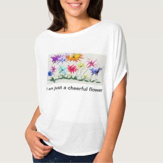 A pretty flower t-shirt