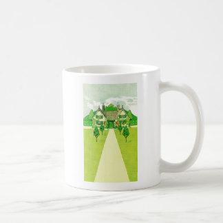 A Pretty Little House Classic White Coffee Mug