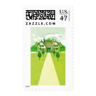 A Pretty Little House Postage