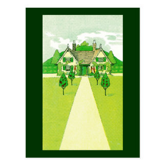 A Pretty Little House Post Cards