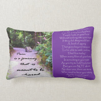 A pretty pillow to support you and your back