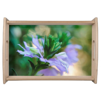 a Pretty Serving Tray Featuring Floral Photography
