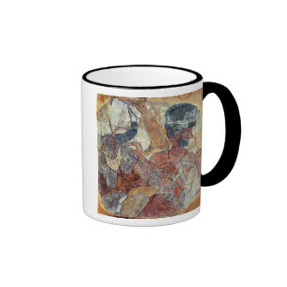 A priest leading a bull to sacrifice coffee mugs