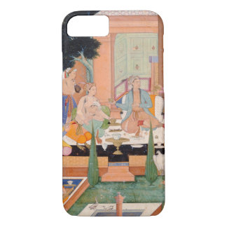 A prince and companions take refreshments and list iPhone 7 case