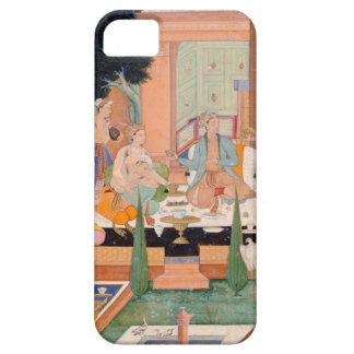 A prince and companions take refreshments and list iPhone SE/5/5s case