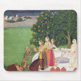 A Prince begging water from women at a well Mouse Pad