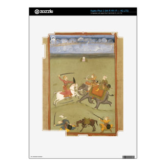 A Prince Fighting his Enemies on an Elephant, c.17 iPad 3 Skin