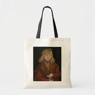 A Prince of Saxony, c.1517 (oil on panel) Budget Tote Bag