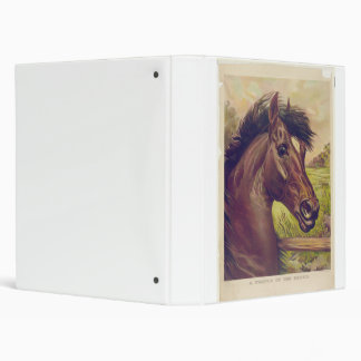 A Prince of the Blood by Ives Horse Head 3 Ring Binder