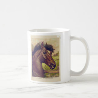 A Prince of the Blood by Ives Horse Head Coffee Mug