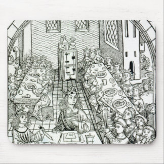 A Princely Banquet, 1491 Mouse Pad