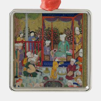 A Princely Reception Metal Ornament