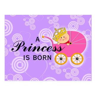 A Princess is Born Postcard