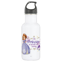 A Princess is Sweet and Loving 2 Stainless Steel Water Bottle