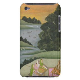 A Princess listening to female musicians by a rive Barely There iPod Case