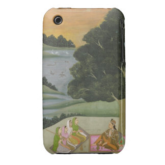 A Princess listening to female musicians by a rive iPhone 3 Case