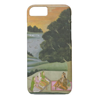 A Princess listening to female musicians by a rive iPhone 8/7 Case