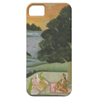 A Princess listening to female musicians by a rive iPhone SE/5/5s Case