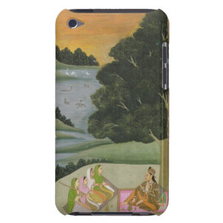 A Princess listening to female musicians by a rive iPod Touch Case