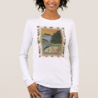 A Princess listening to female musicians by a rive Long Sleeve T-Shirt