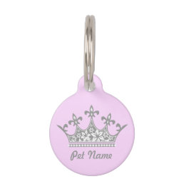A Princess of a Pet Tag