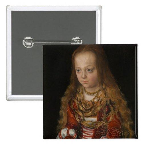 A Princess of Saxony, c.1517 (oil on panel) Pin