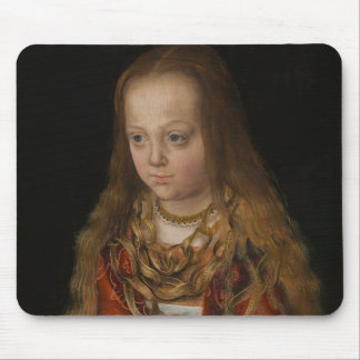 A Princess of Saxony, c.1517 (oil on panel) Mouse Pad