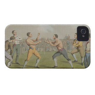 A Prize Fight, aquatinted by I. Clark, pub. by Tho iPhone 4 Cover