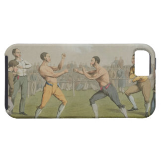 A Prize Fight, aquatinted by I. Clark, pub. by Tho iPhone SE/5/5s Case