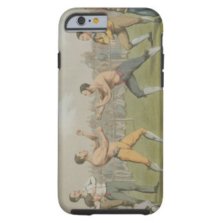 A Prize Fight, aquatinted by I. Clark, pub. by Tho Tough iPhone 6 Case