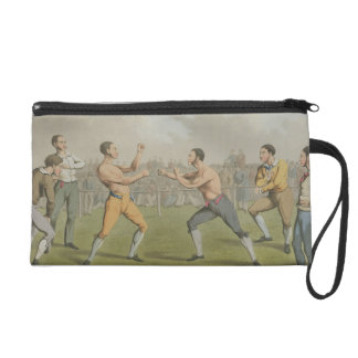 A Prize Fight, aquatinted by I. Clark, pub. by Tho Wristlet Purse