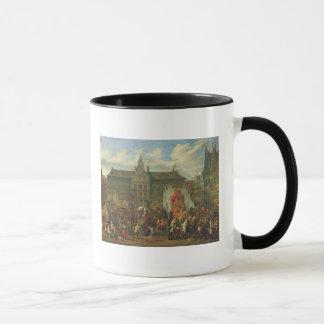 A Procession at Antwerp, 1697 Mug